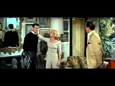 Goodbye Charlie (1964)  Shot by a jealous husband, Charley falls out a porthole and is lost at sea only to find himself returned as an attractive blond woman. His best friend is staying at his house as he puts Charlie's affairs in order and after being convinced, finds himself an unwilling helper in Charlie's new plan to marry into money.