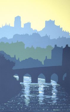 Elvet Bridge, Durham by Ian Scott Massie