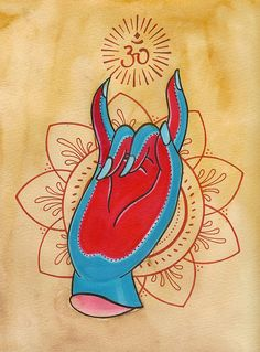 metal mudra by littlejennsmall, via Flickr