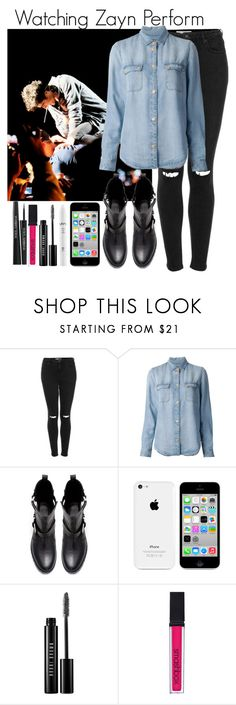 """""""Watching Zayn Perform"""" by elise-22 ❤ liked on Polyvore featuring Topshop, 7 For All Mankind, Zara, NYX, Bobbi Brown Cosmetics, Smashbox, Dolce&Gabbana, concert, OneDirection and 1d"""