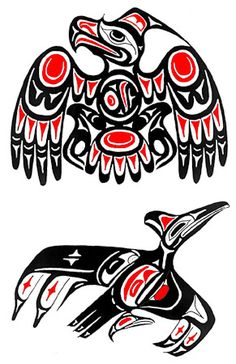 Google Image Result for http://www.thetattooartists.com/Tribal%2520Flash/content/images/large/pacific_northwest_native_american_totem_USA_color_eagle_image010_Tattoo_Temple_The_Premier_Body_Art_Studio.jpg