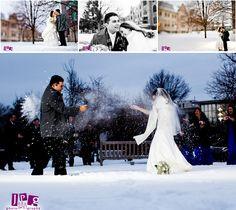 Snow fight!!  www.jpgphotography.com
