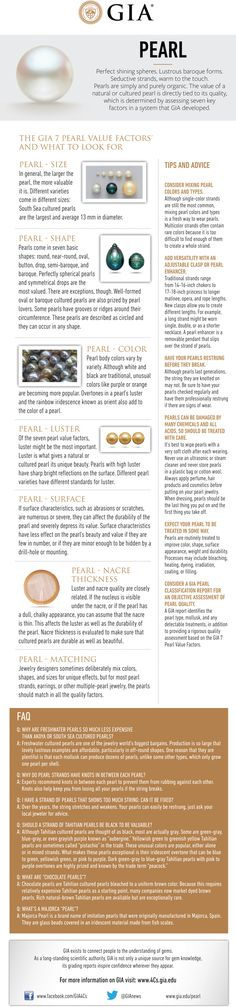 Pearl Buying Guide. GIA (060914)