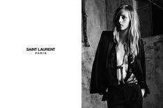 Saint Laurent Paris SS13 campaign