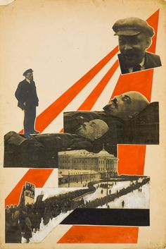 Rodchenko He has successfully created an montage that appears to show someone looking down on the rest of the picture