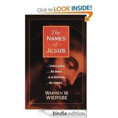 Names of Jesus by Warren Wiersbe (just $1.99) {Kindle}