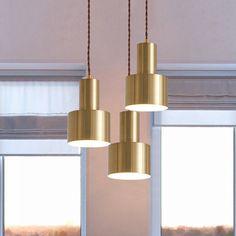 Mini Grenade Iron Pendulum Light Postmodern Single Brass Finish Pendant Lighting Fixture - 220V-240V Brass