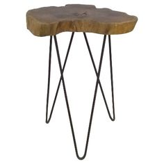 Live Edge Accent Table -Threshold™ : Target
