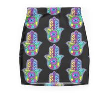 Neon Hamsa Pencil Skirt by hausofophidia
