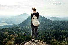 Krymská Sailor Bag in Bohemian Paradise End Of The World, Go Outside, Cotton Canvas, Sailor, Places To Go, Paradise, Bohemian, Swimming, Adventure
