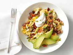 Mexican Eggs With Chorizo and Beans Recipe : Food Network Kitchen : Food Network Bean Recipes, Salad Recipes, Chorizo Recipes, Easy Healthy Recipes, Easy Meals, Vegetarian Recipes, Vegan Meals, Quick Recipes, Mexican Eggs