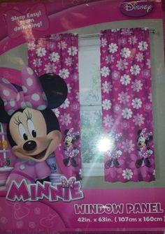 TOPSELLER! Disney Minnie Mouse Room Darkening Wi... $15.95