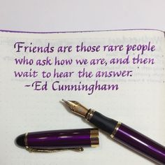A real friend—I hope you have at least one friend like this. Pen: Jinhao mm Goulet nib Ink: Noodler's Purple Paper: notebook How To Do Calligraphy, Calligraphy For Beginners, Calligraphy Words, English Handwriting Styles, Beautiful Handwriting, Hand Lettering Practice, Hand Lettering Quotes, Stoicism Quotes, Bullet Journal Quotes