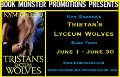 Book Review: Tristan's Lyceum Wolves by Kym Grosso Blog Tour | I Smell Sheep