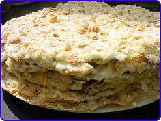 Торт Наполеон из готовых коржей - Рецепты с фото