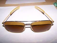 33d4d0cc14164 15.50Vintage Men s 76 Cool-Ray Polaroid Aviator Flight Sunglasses  Eyeglasses no Case  CoolRay