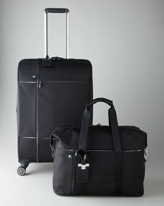 7d4ab5e799f3a Black Luggage Collection by BMW at Neiman Marcus. Bmw Black