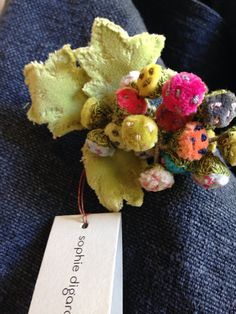A little bud brooch by Sophie Digard at BrownandCo Melbourne