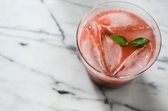 Roasted Strawberry Gin + Tonic — Local Haven