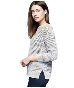 Gap Mixed Knit Sweater | The picture of comfort and practicality, enlist one of these must-have knits for a stylish and seasonal update.