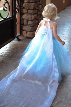 Elsa Princess Dress  Disney Princess Dress   Princess Tutu Dress   Disney  Costume  Elsa Costume  Frozen Dress  Halloween Costume  Elsa Dress