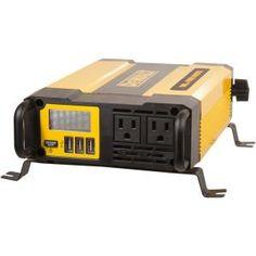 Visit The Home Depot to buy Power Bright Power Bright 12 Volt DC to AC 2300 Watt Power Inverter Generator Shed, Inverter Generator, Generators, Charlotte Nc, Dewalt Tough System, Dewalt Power Tools, Split Ac, Electronic Recycling, Recycling Programs