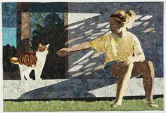 Figurative Art - Fabric & Quilt Art - Joan Sowada Art