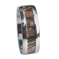 Deep Woods Hunter Camo Ring - Best Seller - Popular for Gifts & Weddings - for Men & Women