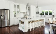Design ideas from a Hamptons style kitchen renovation in Perth ...