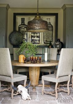Interior designer Amy Morris Via dustjacket-attic