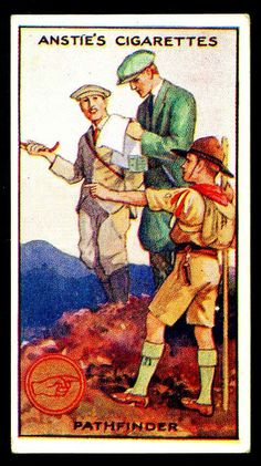 Cigarette Card - Scout Series #25 by cigcardpix, via Flickr
