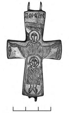 Византийский крест-энколпион (группа I)