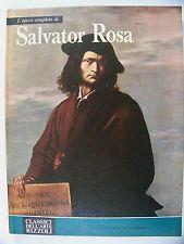 L'OPERA COMPLETA DI SALVATOR ROSA Classici dell'Arte Rizzoli 1975