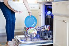 14 Unexpected Dishwasher Hacks to Clean Everything - The Krazy Coupon Lady Deep Cleaning, Cleaning Hacks, Organizing Tips, Organization, Dishwasher Tabs, Diy Household Tips, Mesh Laundry Bags, Coupon Lady, Laundry Hacks