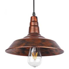 Pendant Ceiling Lamp Industrial Retro Coffee Bar Lighting Fixtures Light Shades #Unbranded