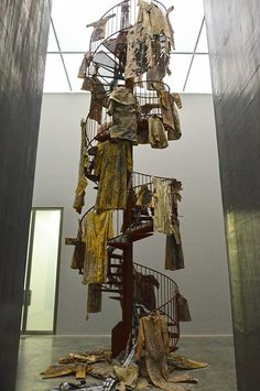 BBC Arts - BBC Arts - Monumental myths: Darkness beckons in Anselm Kiefer's Walhalla Anselm Kiefer, A Level Art, Scenic Design, Equine Art, Art Techniques, Installation Art, Textile Design, Fiber Art, Abstract Landscape