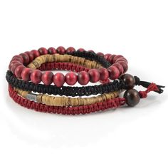 Buy Lucleon - Harmony Bracelet for only Shop at Trendhim and get returns. We take pride in providing an excellent experience. Simple Bracelets, Black Bracelets, Bracelets For Men, Leather Bracelets, Paracord Bracelets, Beaded Bracelets, Lava Bracelet, Engraved Bracelet, Wooden Beads