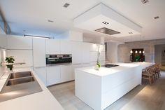 cuisine bulthaup b3 stratifié blanc alpin