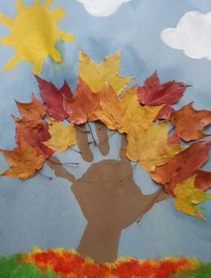 Cute fall craft with