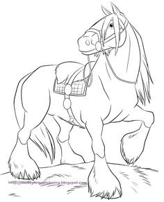Caballo Coloring Page