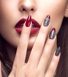 30 Stunning DIY Nail Designs For Beginners Of 2019 Nail Art nail art designs Red Nail Art, Cool Nail Art, Red Nails, Pastel Nails, Bling Nails, Stiletto Nails, Beautiful Nail Art, Gorgeous Nails, Beautiful Women