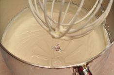 Tort cu blat de nuca si crema de ricotta cu fructe - StickyFingers.ro Ricotta, Icing, Desserts, Tailgate Desserts, Deserts, Postres, Dessert, Plated Desserts