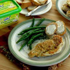 Herbed Chicken Cutlets in Lemon Garlic Sauce