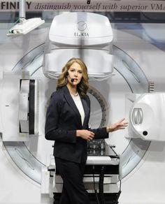 Elekta Infinity™ image-guided radiation therapy system at ASTRO 2012, Boston, MA - http://www.elekta.com/infinity