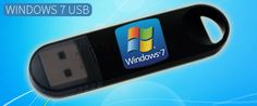 Windows 7 USB bootable file digital version OS and license
