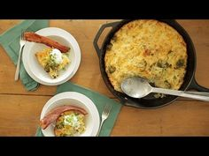 Cheesy Broccoli and Potato Casserole - Everyday Food with Sarah Carey - YouTube