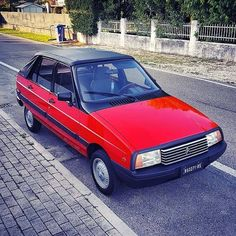 Citroen Visa cabrio Psa Peugeot Citroen, Citroen Car, Design Cars, Vintage Cars, Classic Cars, Passion, Future, Vehicles, Autos