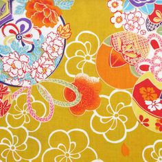Tissu japonais Chinese Patterns, Japanese Patterns, Japanese Design, Motif Design, Deco Design, Pattern Design, Japanese Paper, Japanese Fabric, Chinoiserie