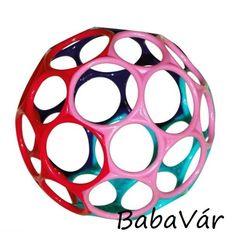 Oball színes műanyag babalabda lányos Ár: 1 600 Ft
