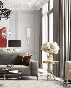 23 Inviting Beige Living Room Design Ideas to Bring a New Dimension to Your Home - The Trending House Good Living Room Colors, Living Room Color Schemes, Living Room Designs, Living Room Decor, Dining Room, Luxury Home Furniture, Luxury Interior, Rustic Furniture, Modern Furniture